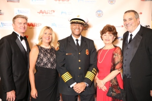 Members of USP, Brad Carmichael; Tisha Hulburd; Atlanta Police Chief; Kelvin Cochran; Cathy Spain; and Jim Hunt.